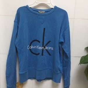 Blue Calvin Klein Jeans Sweater